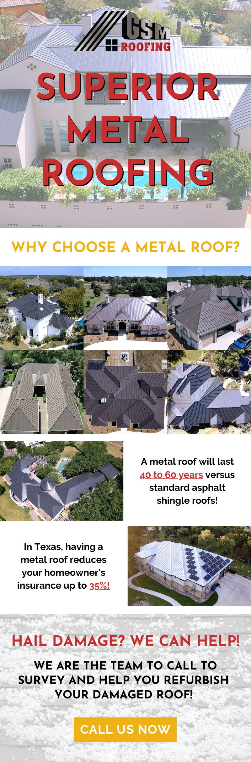 The Most Superior Metal Roofing! 👍 3