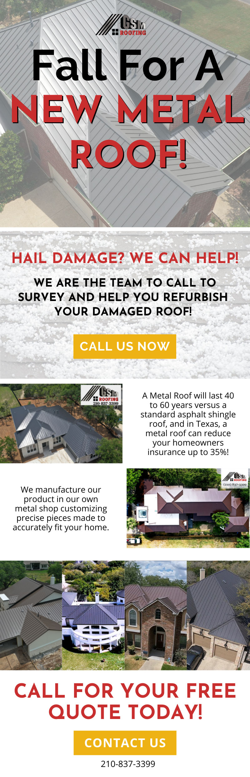 Fall for a New Metal Roof! 3