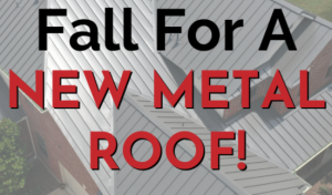 Read more about the article Fall for a New Metal Roof!
